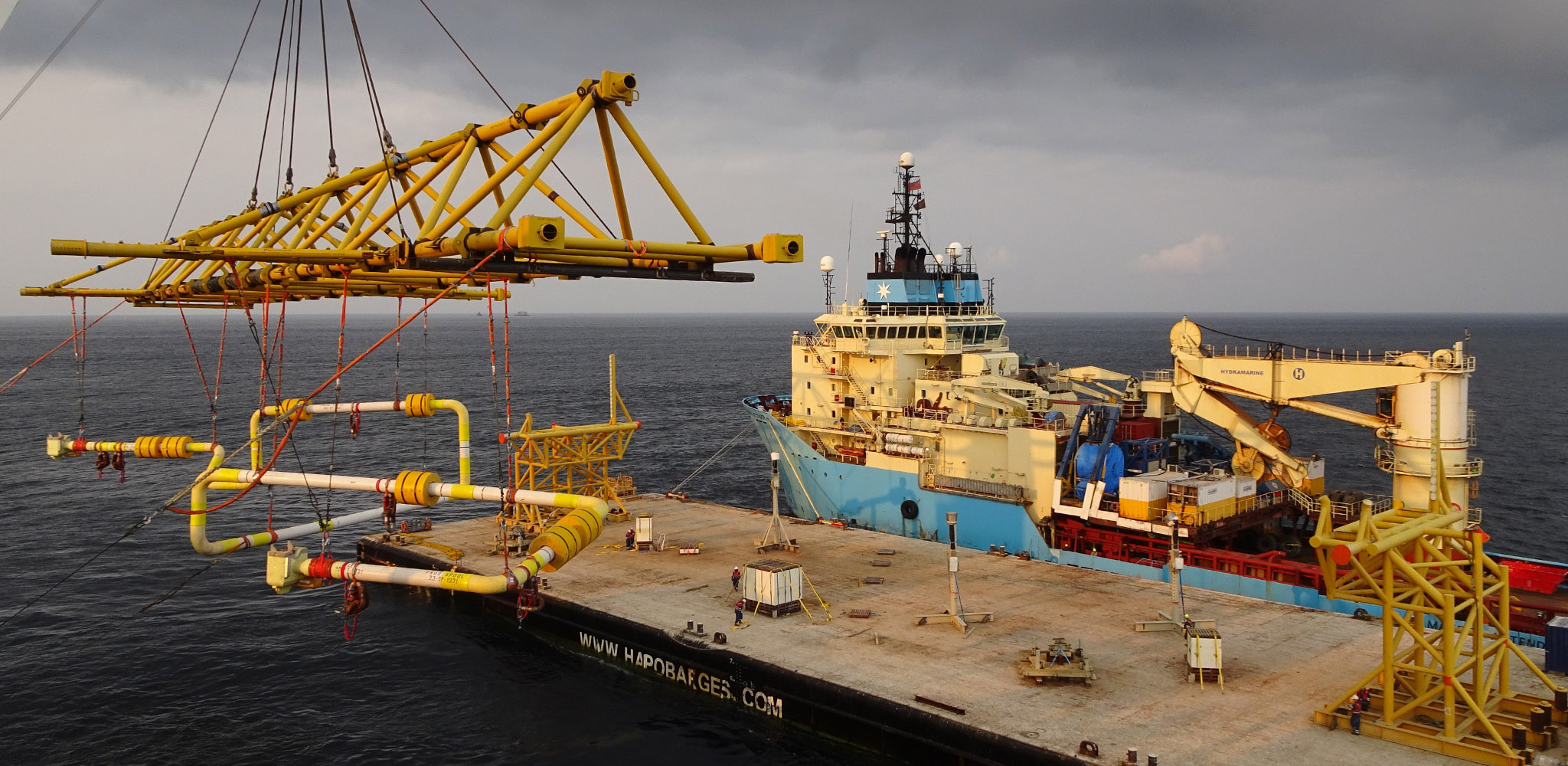 Kaombo project – subsea metrology