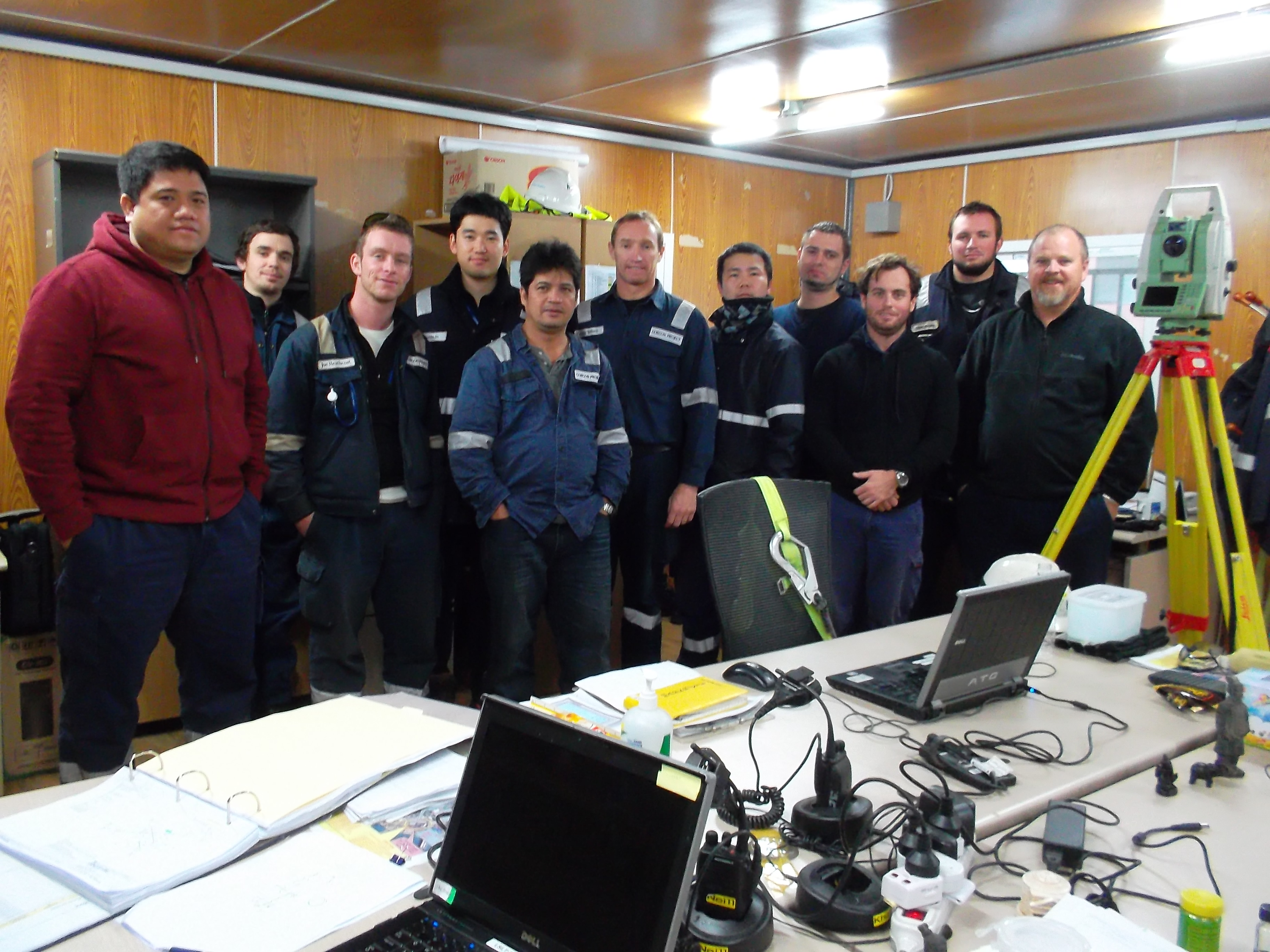 Integrated Fugro team in South Korea