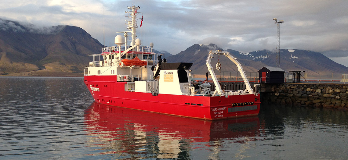 From shipyard to the Arctic | Fugro