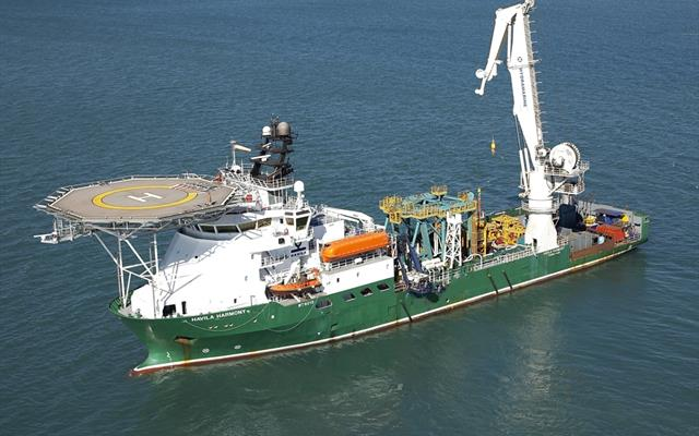 Havila Harmony DP2 multi-role ROV support vessel