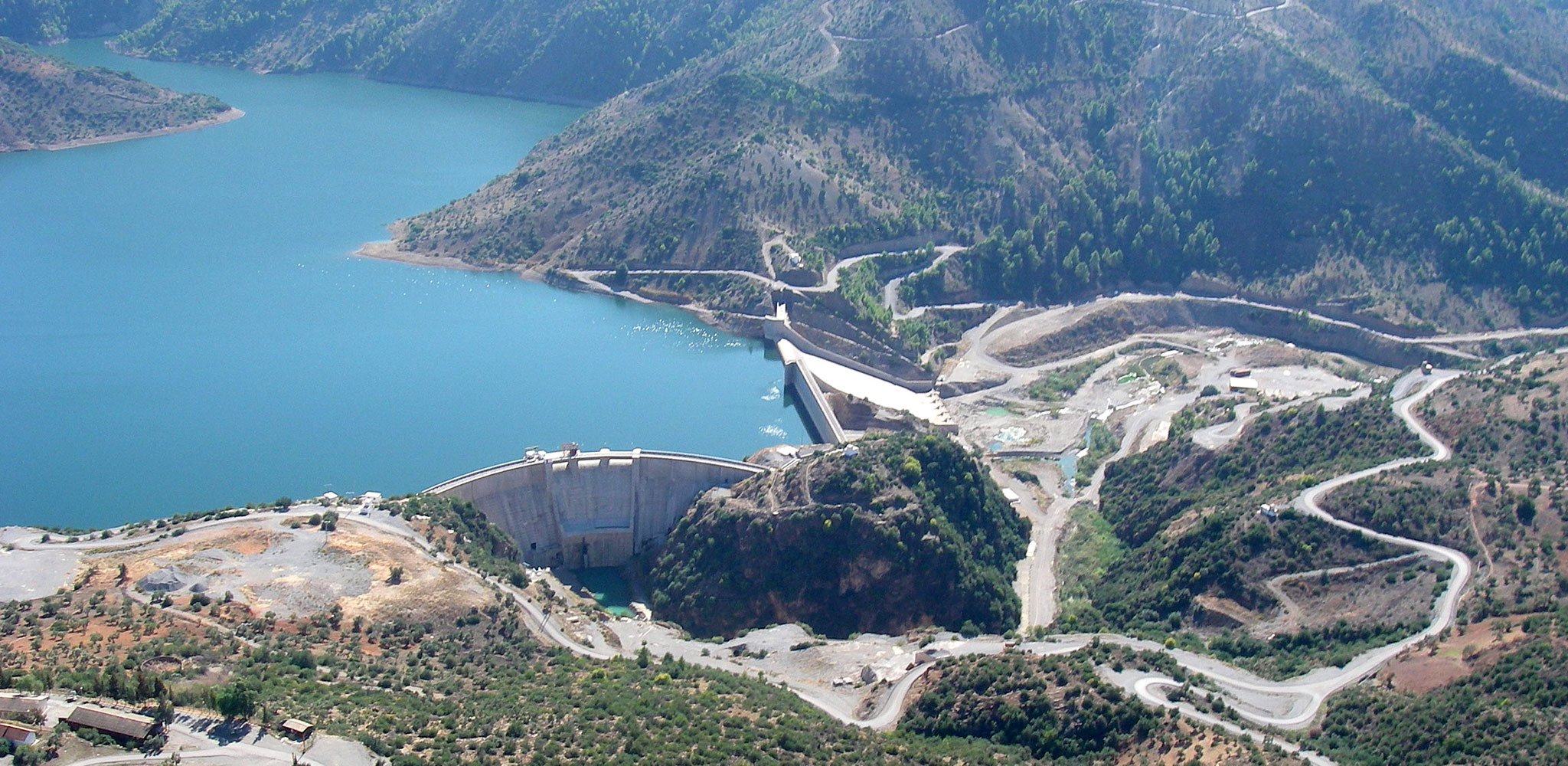 A dam - one aspect of water resources management