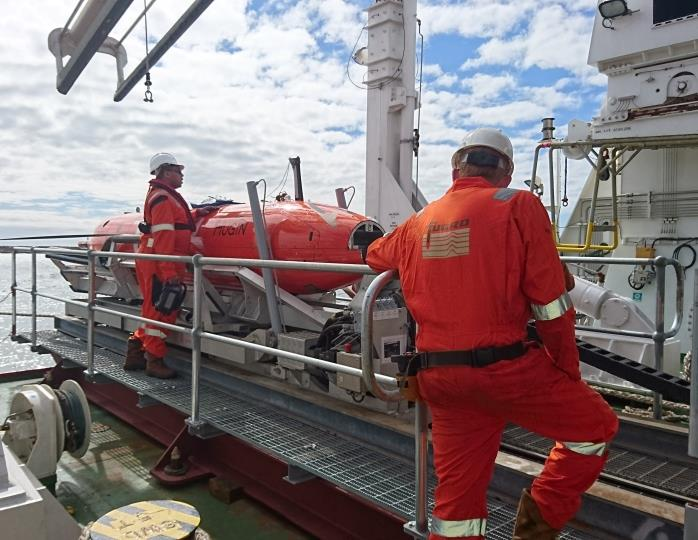 Fugro deploys Echo Surveyor VII AUV and specialised seafloor sampling equipment in support of NORI's deep sea polymetallic nodule mining