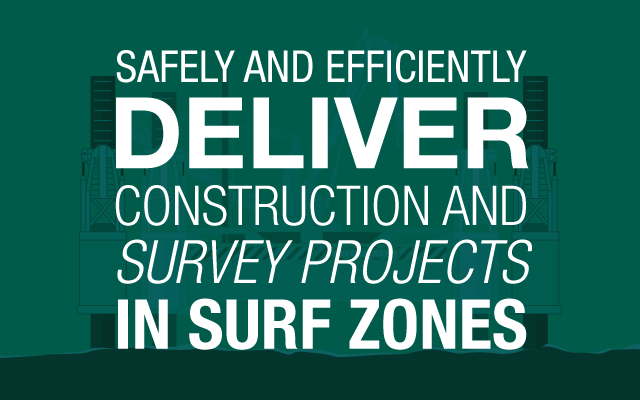 construction and survey projects - surf zones